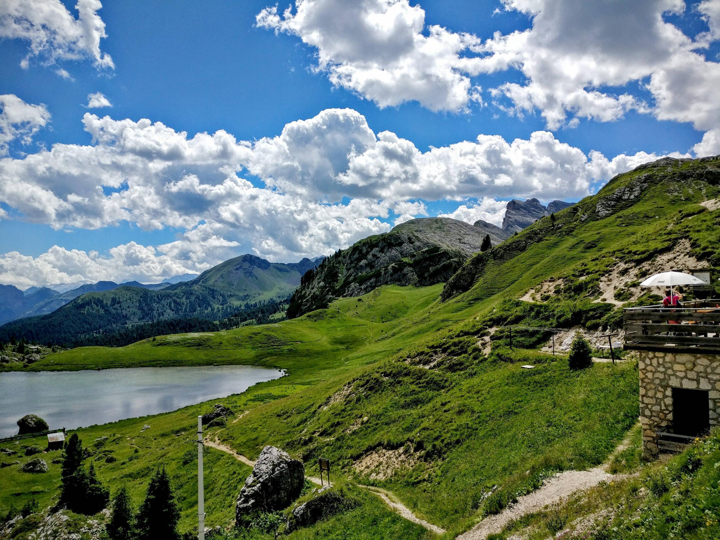 Mooie natuur bovenop Valparola (Foto: Panoramio)