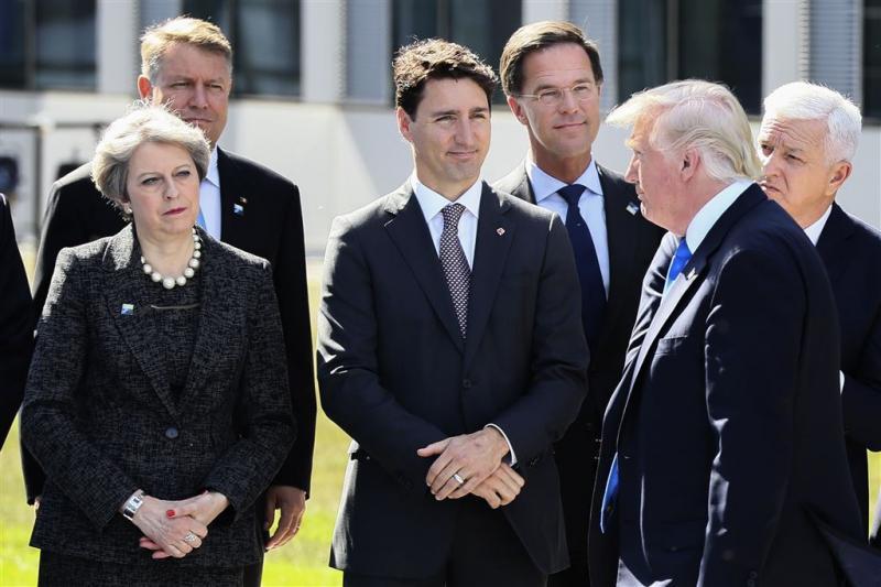 Rutte had 'prima dialoog' met Trump