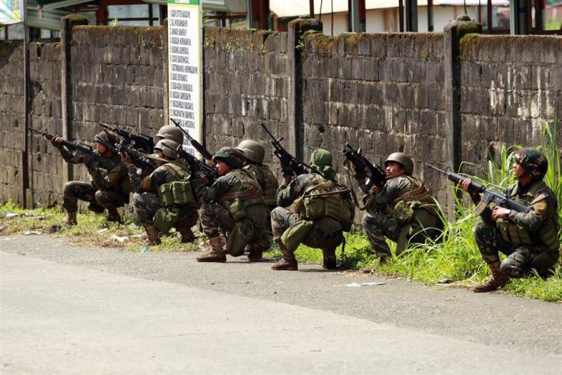 Buitenlandse terroristen bij gevechten Marawi