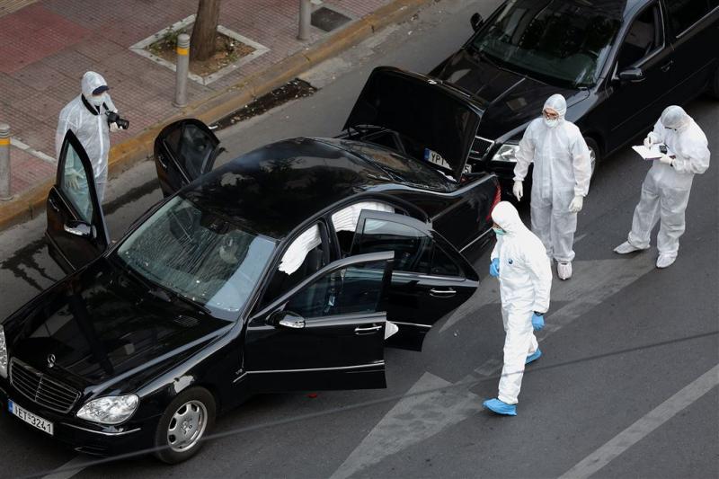 'Papademos herstelt voorspoedig na aanslag'