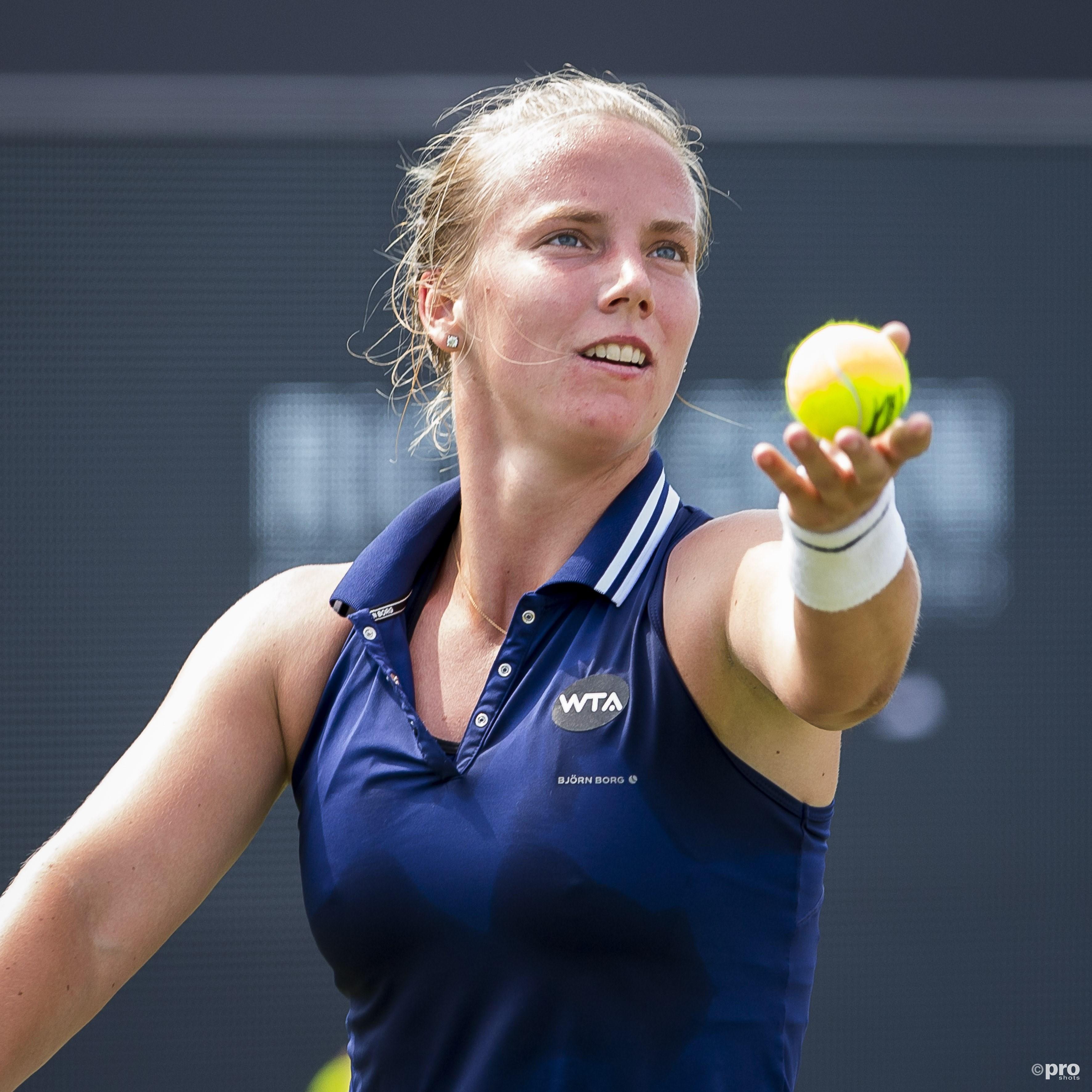 Richel Hogenkamp naar hoofdtoernooi Roland Garros. (PRO SHOTS/Joep Leenen)