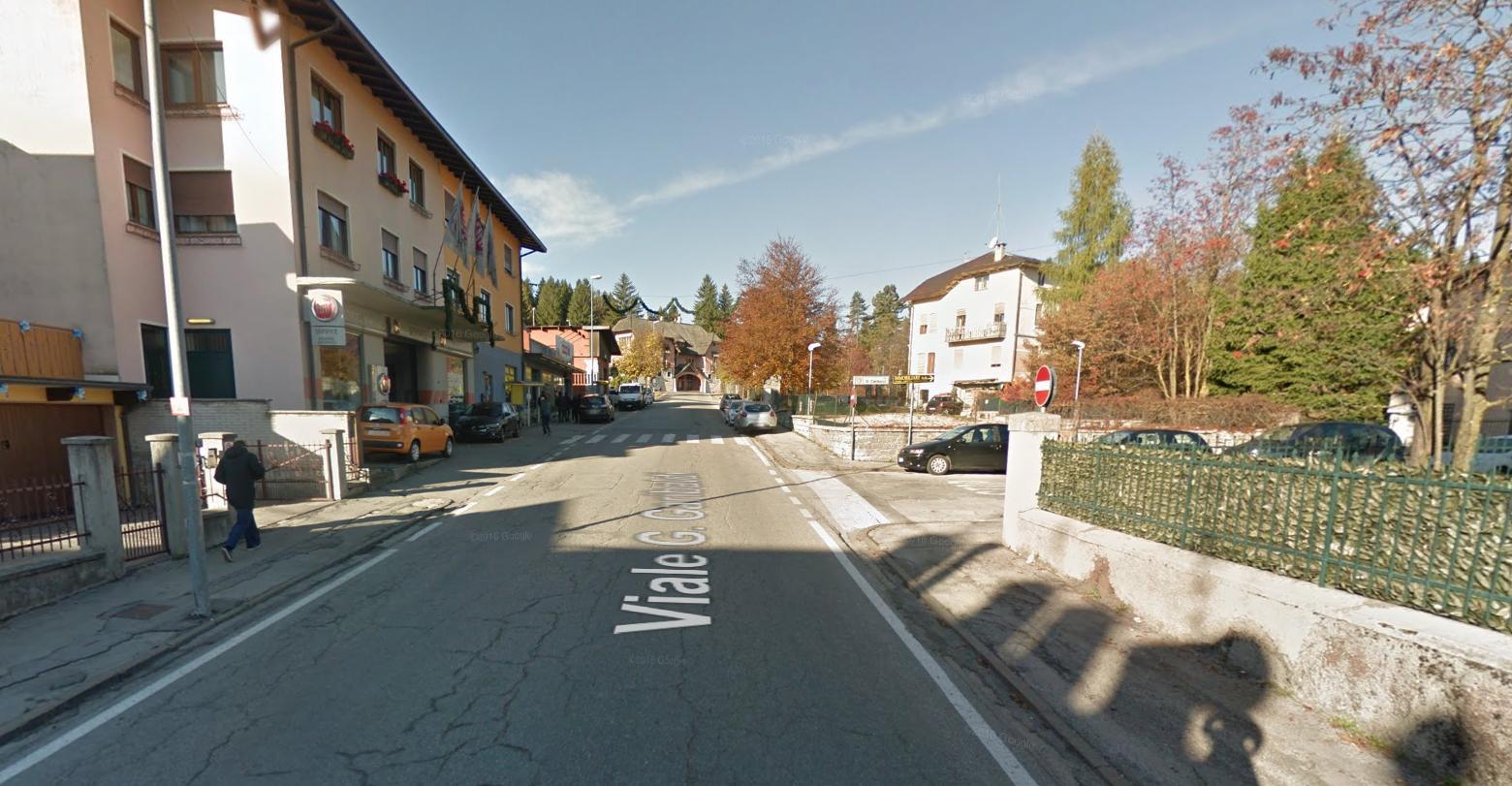 De weinig idyllische finishstraat (Foto: Google Maps)