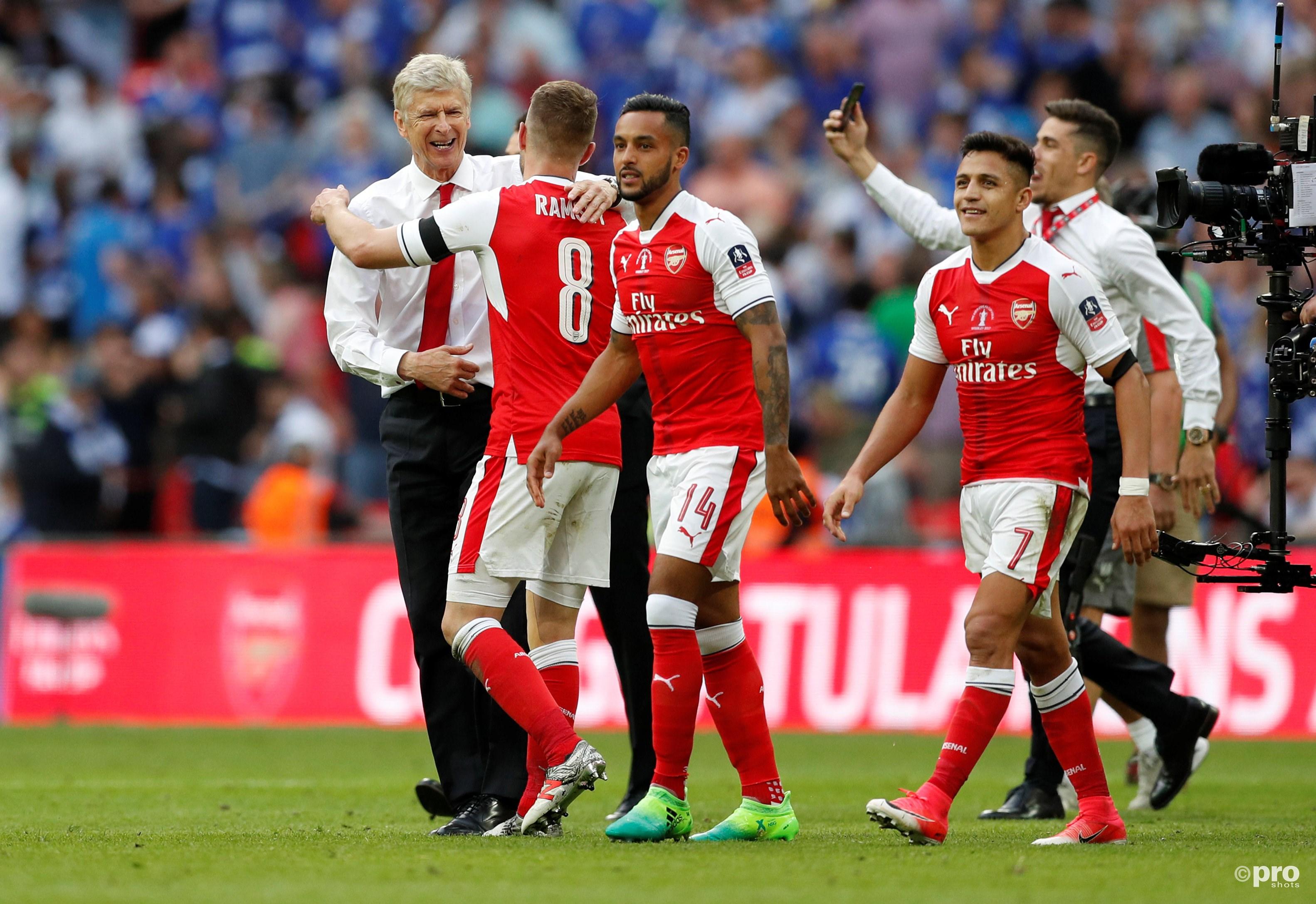 Arsenal wint derde FA Cup in vier jaar. Wenger schrijft geschiedenis. (PRO SHOTS/Action Images)