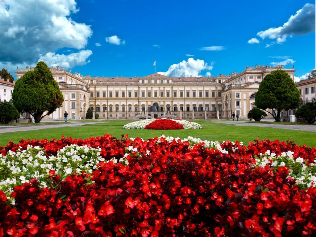 Het Villa Reale in Monza (Foto: Panoramio)