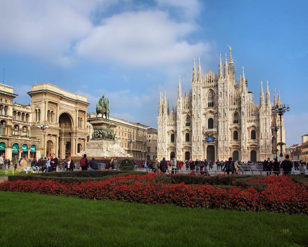 Nog een keer de dom van Milaan, omdat het kan (Foto: Panoramio)