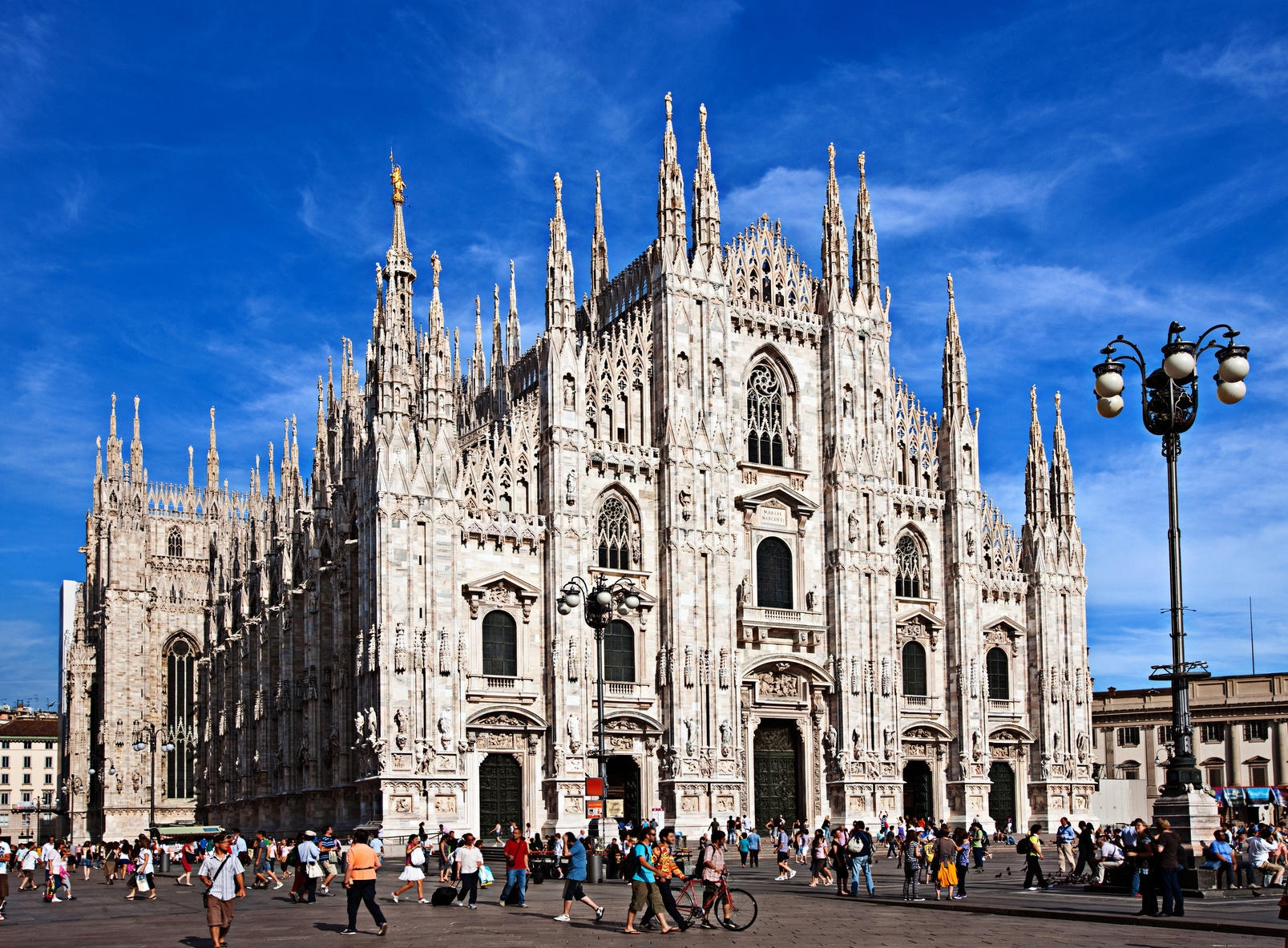 De dom van Milaan (Foto: Panoramio)