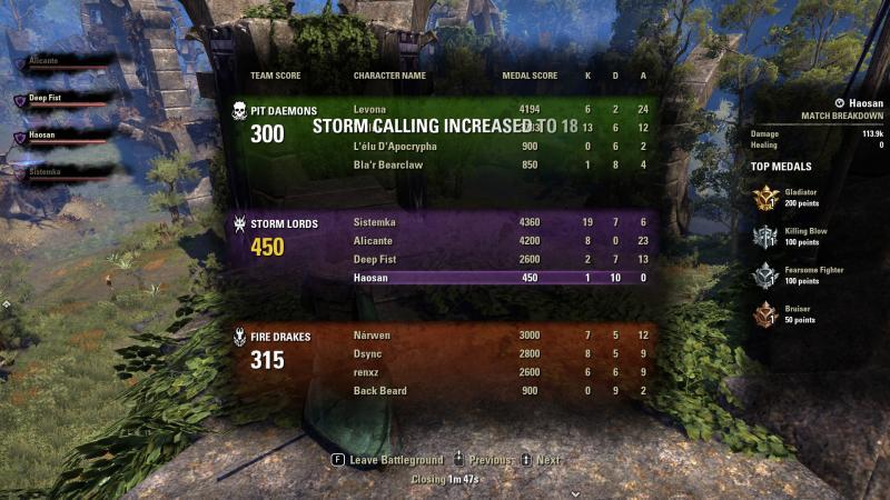 ESO: Morrowind - Battlegrounds