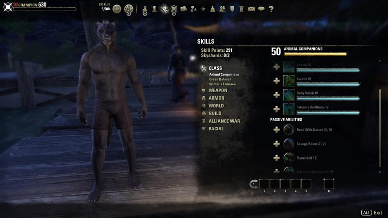 ESO: Morrowind - Test-personage