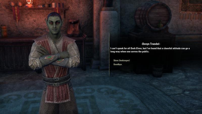 ESO: Morrowind - Vrolijke Dovyn
