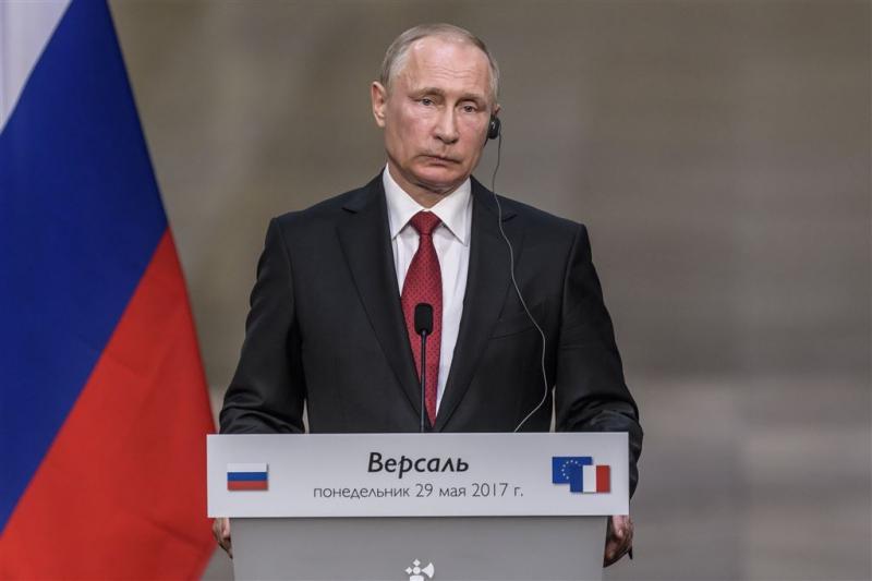 Poetin roept op tot strijd tegen terrorisme