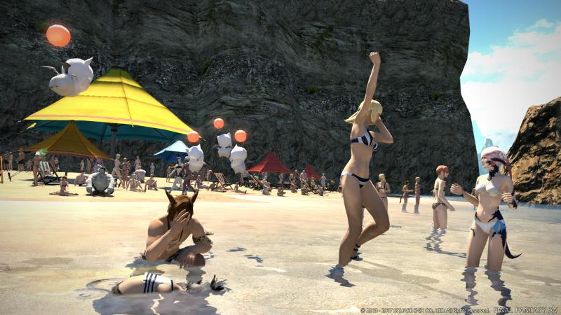 Final Fantasy XIV: Stormblood - Beach (Foto: Square Enix)