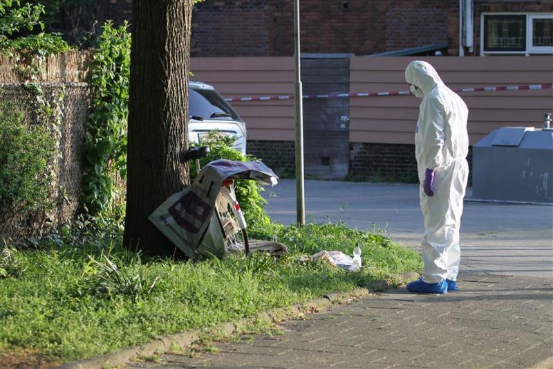Verdachte dood krantenbezorgster opgehaald