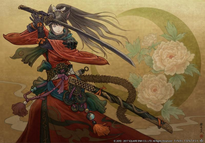 Final Fantasy XIV: Stormblood - Red Mage artwork (Foto: Square Enix)
