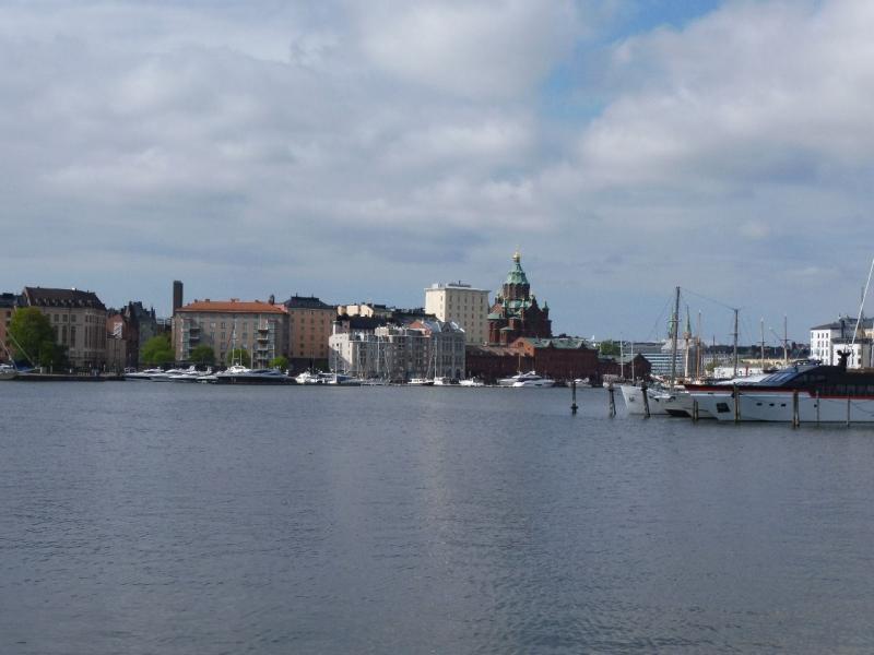 Skyline van Helsinki (Foto: qltel)
