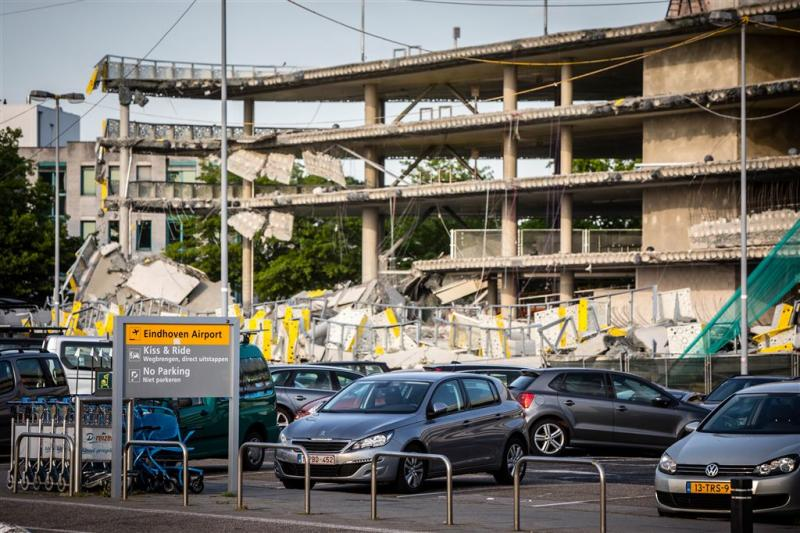 Extern onderzoek instorten garage Eindhoven