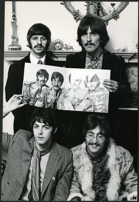 The Beatles en sgt Pepper
