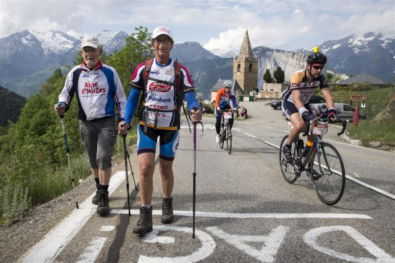 Deelnemers Alpe d'Huzes halen 10 miljoen op