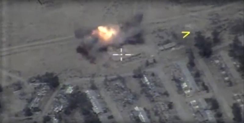 'Rusland bestookt IS: tientallen doden'