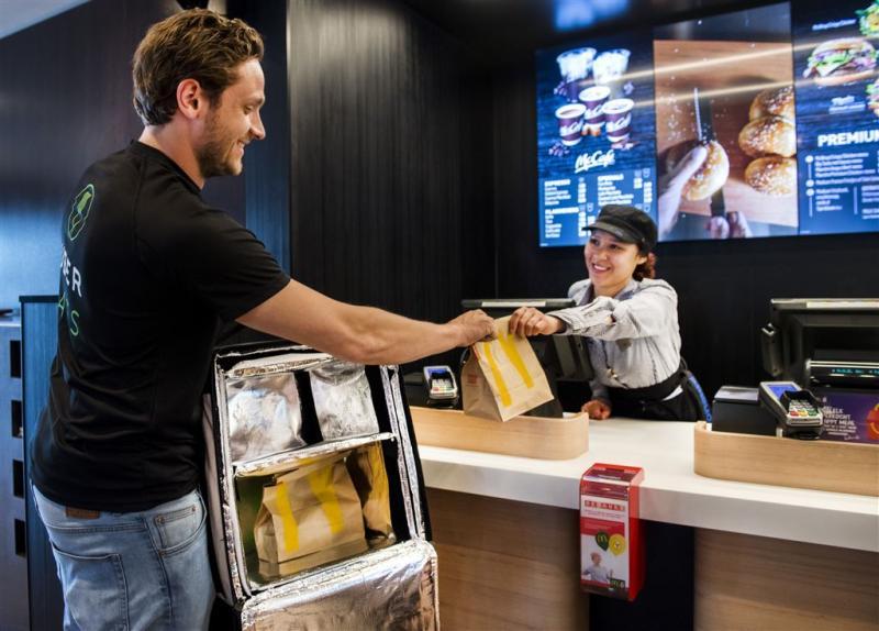 McDonald's start proef met thuisbezorging