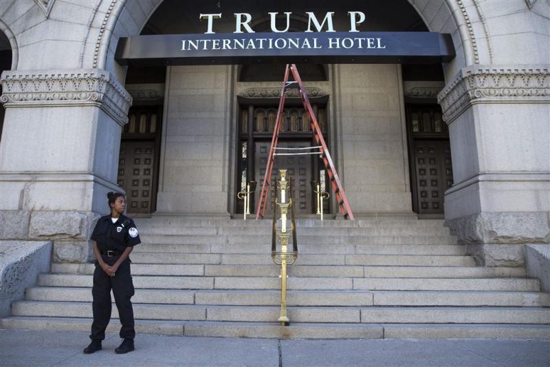 Man met zware wapens opgepakt in Trump Hotel
