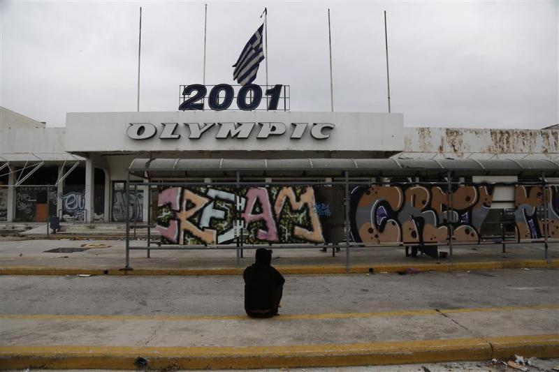Vluchtelingenkamp in Athene ontmanteld