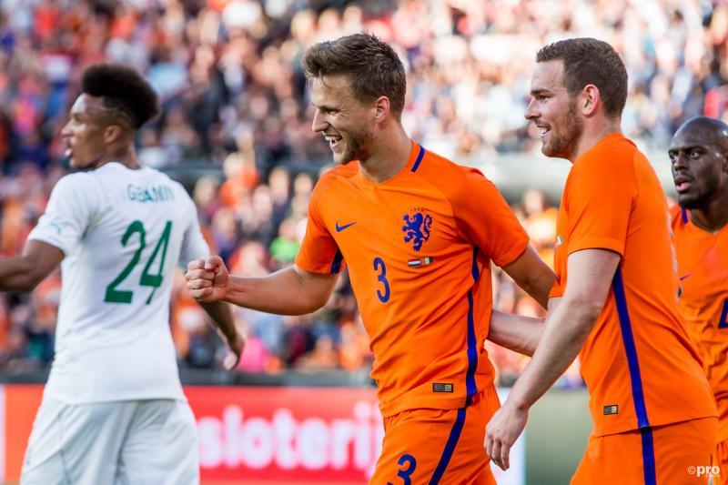 Veltman scoort twee keer voor Oranje tegen Ivoorkust (Foto: Pro Shots/Kay Int Veen)