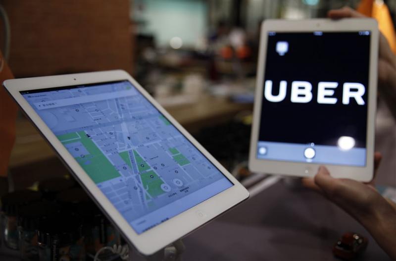 Uber verdubbelde prijzen taxrit na aanslag