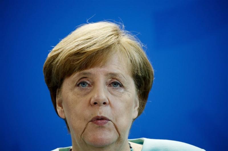 Merkel toont medeleven met slachtoffers