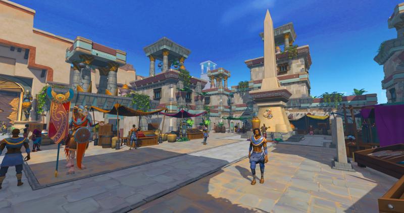 RuneScape: Menaphos - Stad
