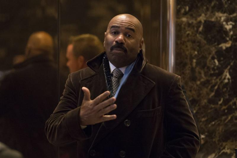 Hackers publiceren shows Steve Harvey