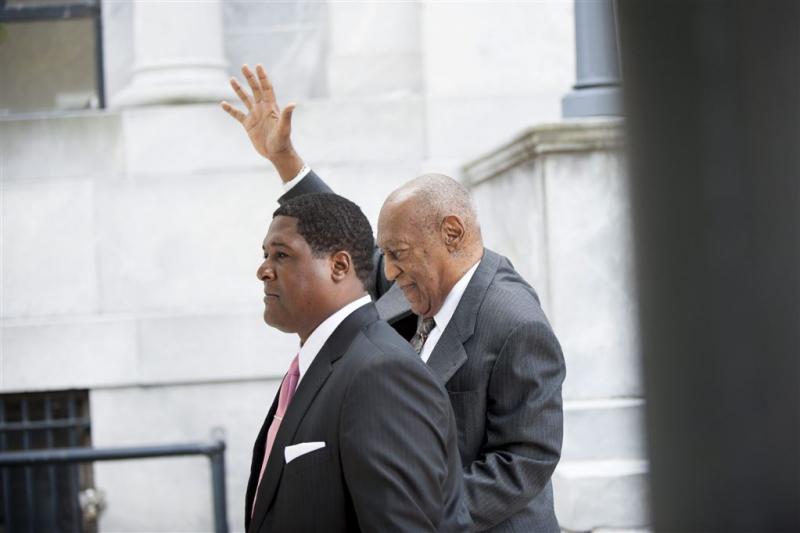 Bill Cosby arriveert bij rechtbank