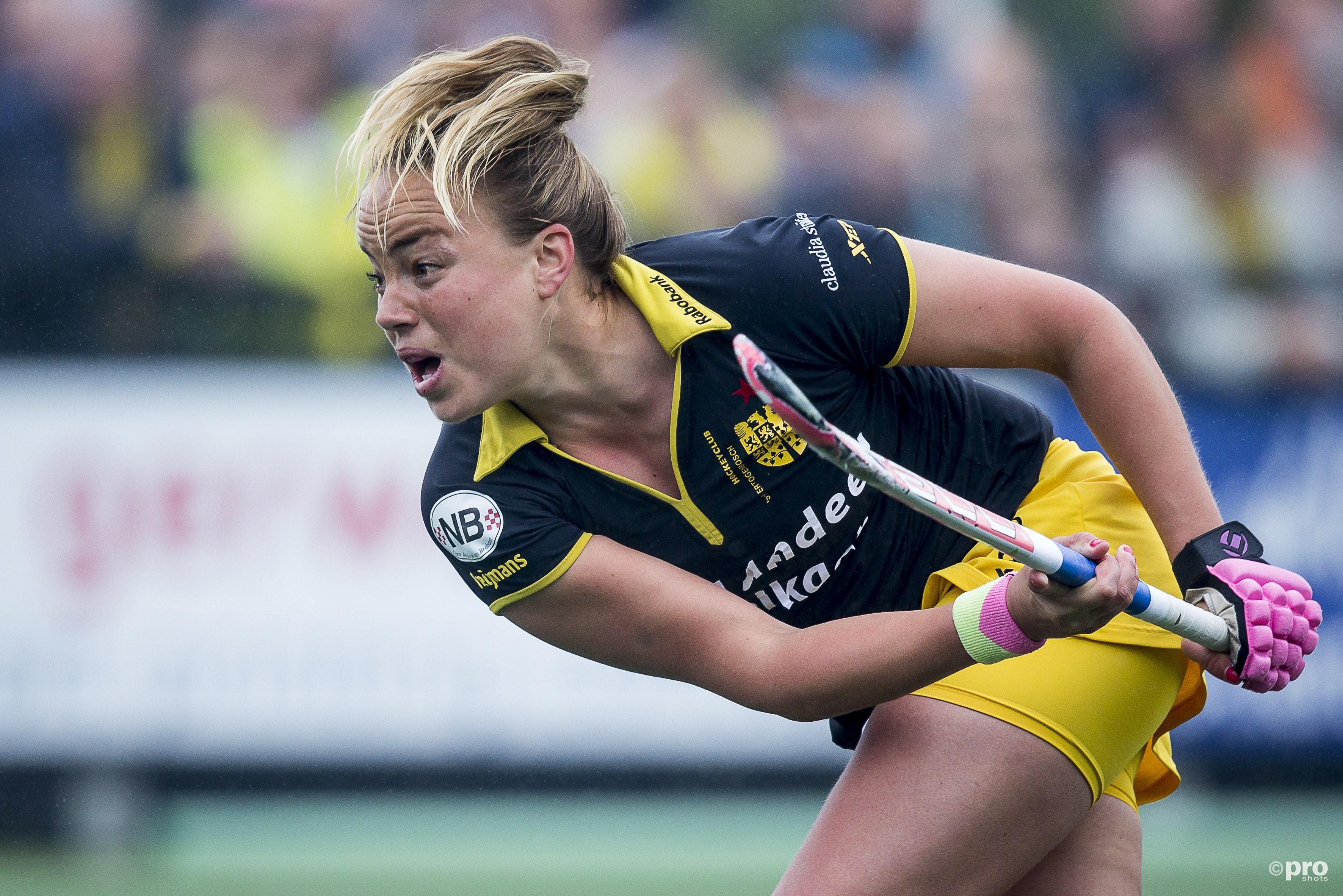 Maartje Paumen sluit carrière bij Den Bosch af met landstitel en Europa Cup. (PRO SHOTS/Joep Leenen)