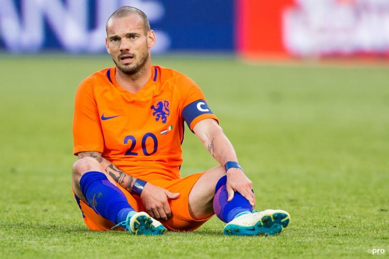 Sneijder voelt zich geen bankzitter (Foto: Pro Shots/Kay Int Veen)
