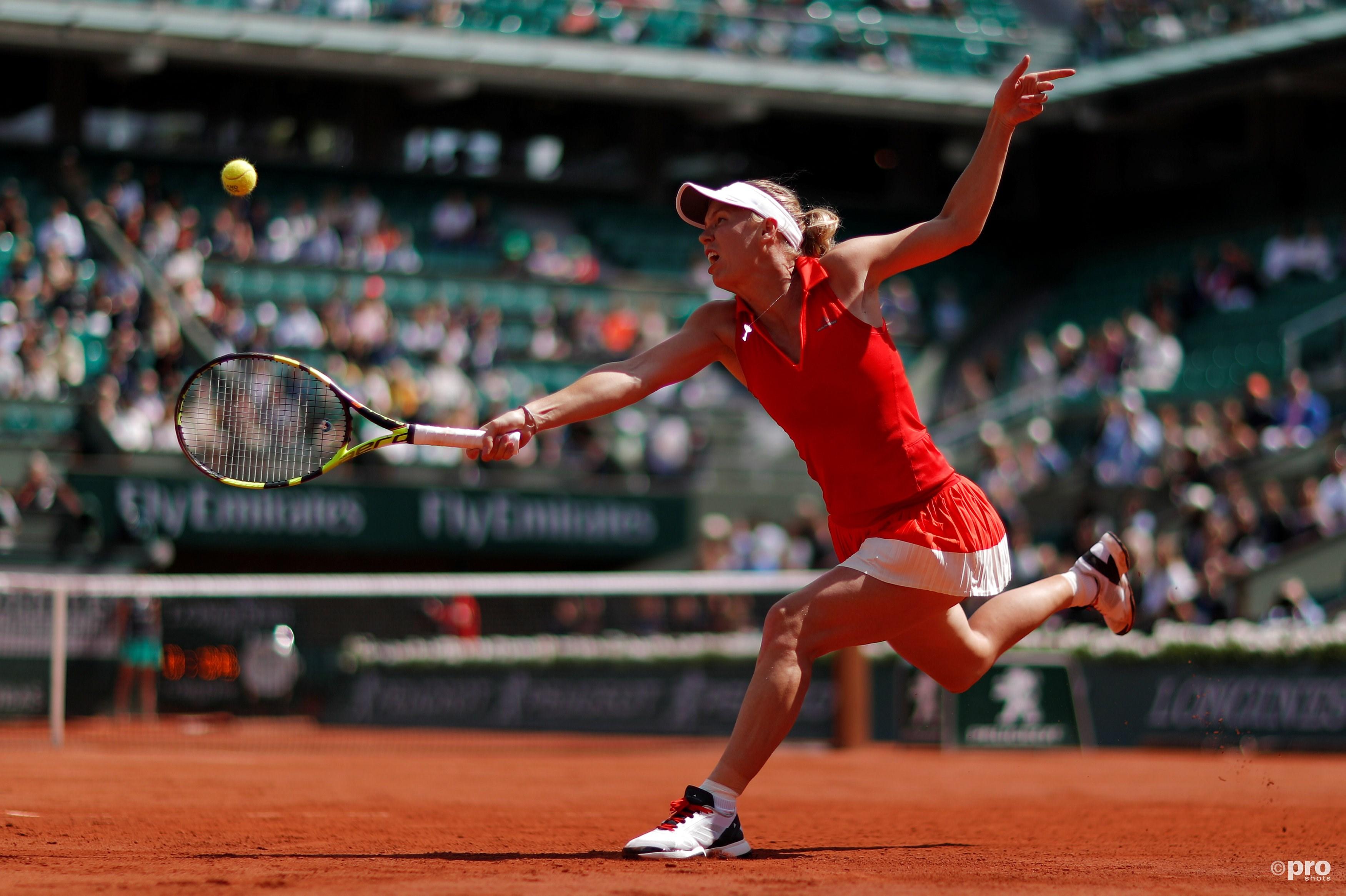 Caroline Wozniacki hoopt na al die jaren eindelijk eens een Grand Slam te kunnen pakken (Pro Shots/Action Images)