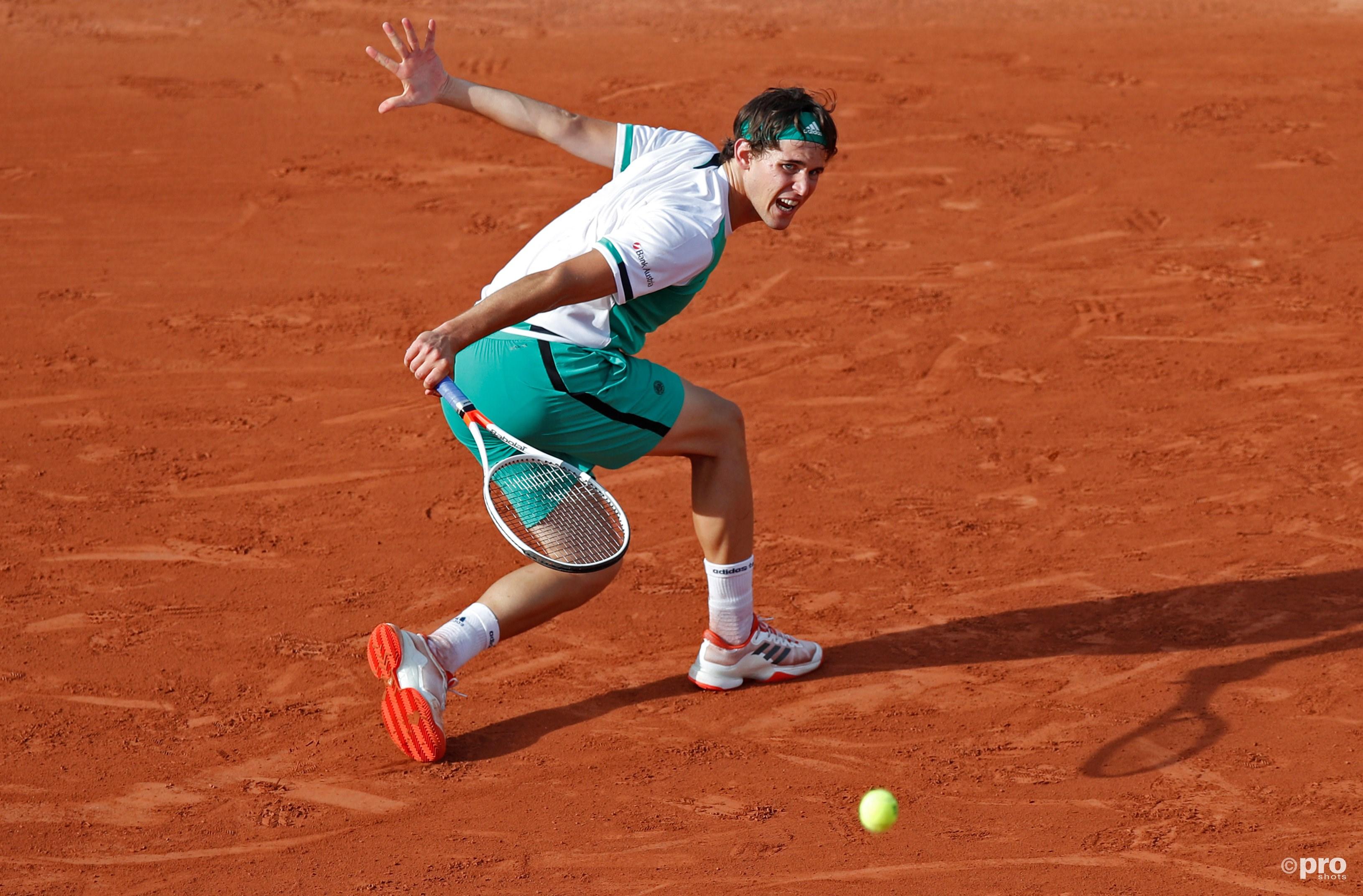 Kan Dominic Thiem het Novak Djokovic moeilijk genoeg maken? (Pro Shots/Action Images)