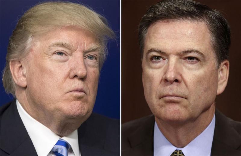 'Trump zal getuigenis Comey niet tegenhouden'