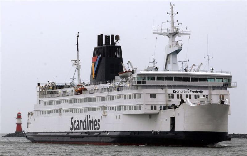 Veerboten van Scandlines geëvacueerd