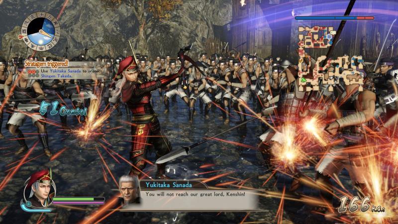 Samurai Warriors: Spirit of Sanada - fight (Foto: Koei Tecmo)