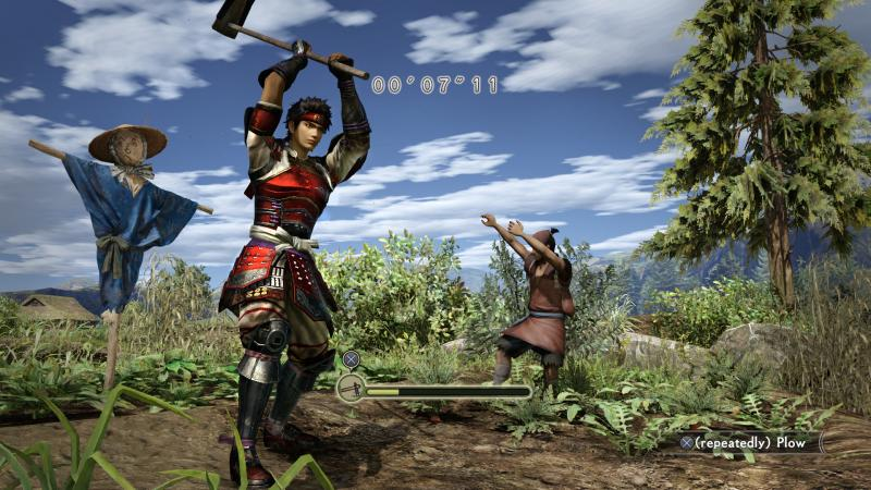 Samurai Warriors: Spirit of Sanada - farming (Foto: Koei Tecmo)