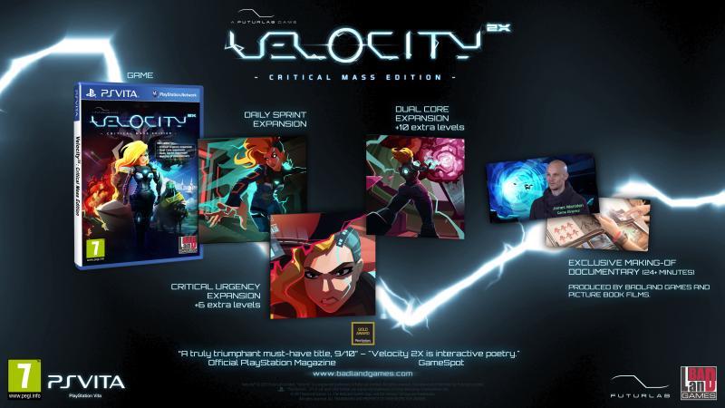Velocity 2X: Critical Mass Edition - PS Vita