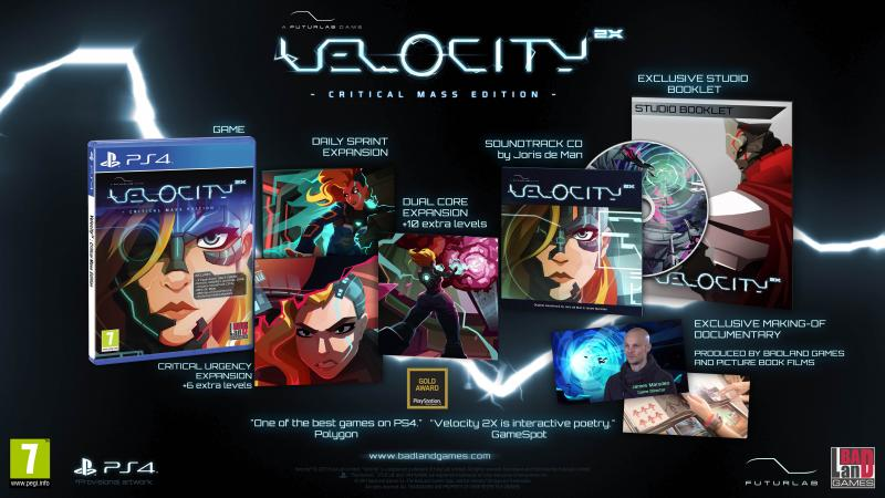 Velocity 2X: Critical Mass Edition - PS4