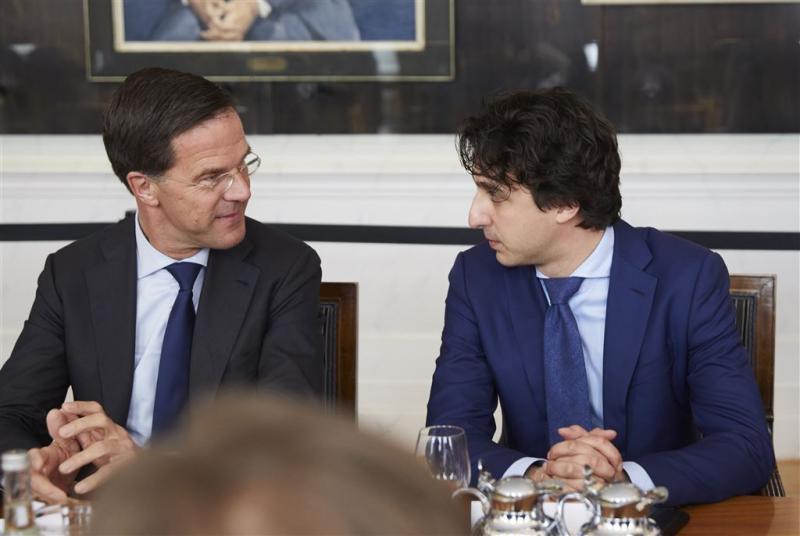 Leiders VVD en GroenLinks thuis bij informateur