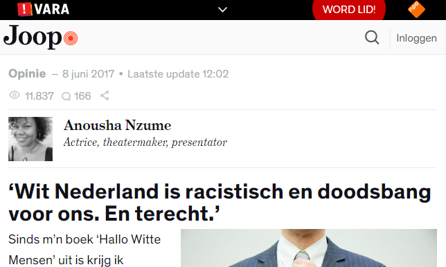 Witmens is smerige kutracist.