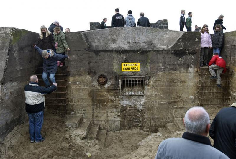 Open huis in ruim zeventig Duitse bunkers