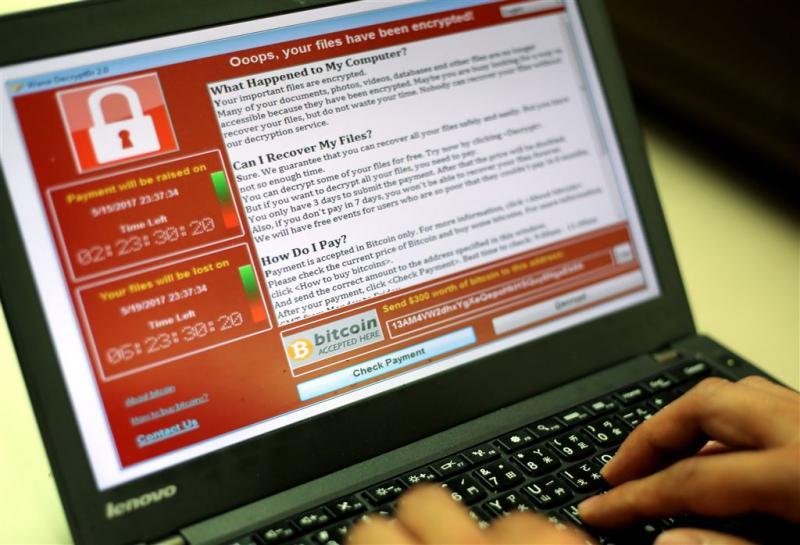 Slachtoffers WannaCry moeten aangifte doen