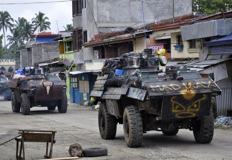Amerikaanse commando's in actie in Filipijnen