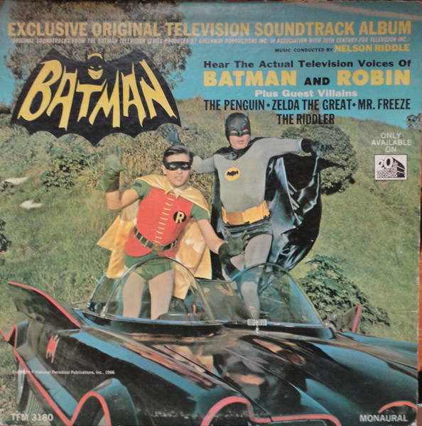 De Batman soundtrack uit 1966