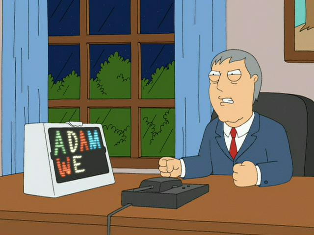 Mayor Adam West (Family Guy)