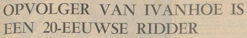 Uit het Algemeen Handelsblad van 29 juli 1966 1