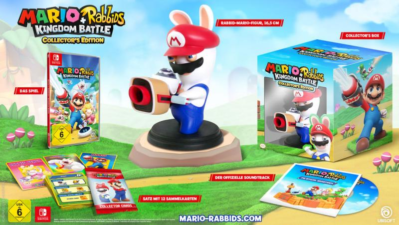Mario + Rabbids Collector's Edition